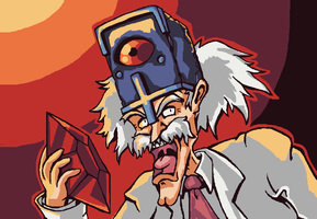 Doctor Wily by brotoad