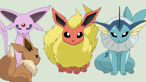 Pokemon Base 67~Eevee Team~ by Xbox-DS-Gameboy