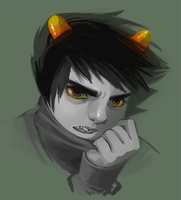 Karkat by gloomy-optimist