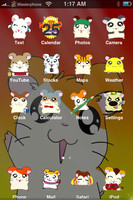 Hamtaro iPhone Theme by sushi-geisha