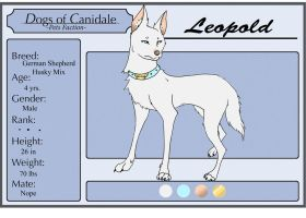Dogs-of-Canidale: Leopold by PrinceFitz