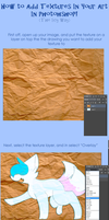 Tutorial: How To Add Textures To Your Art by IceBIue