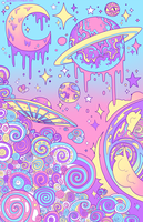 Pastel Galaxy by GhostlyStatic