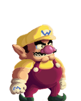 Wario Sprite (KOF XIII style) by Nighteba