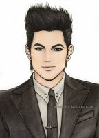 Adam Lambert 7 by Mella-M91