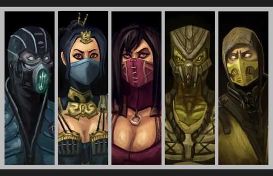 Test Your Might! - The Klassic Ninjas of MKX by Keeterz