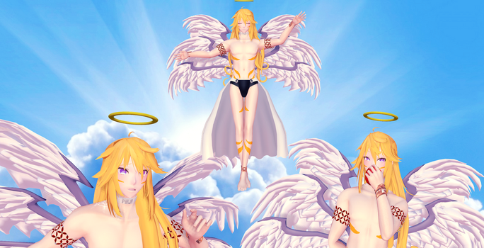 [MMD]Ceres Charon by Summiyaka