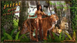 With Love - Sheena - Queen of the Jungle by Becarra
