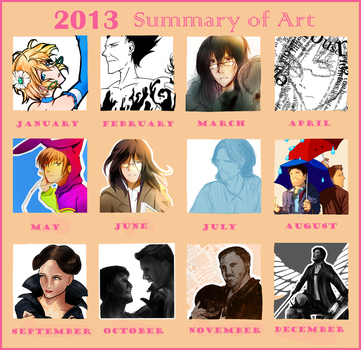 2013 Summary of Art by OnyxSabre
