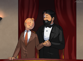 Tintin - Le date by Atlas-White