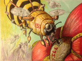 More mechanical bees by stephenglagow