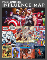 PAINTMARVELS INFLUENCE MAP by paintmarvels