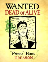 Prince Hans: Wanted for Treason by Lokotei