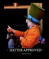 HATTER APPROVED. by DottyDrama