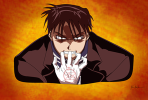Roy Mustang by ImJohnny