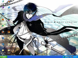 Male Black Rock Shooter BG by YumiStar