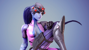 Widowmaker At Rest by HayzenSFM