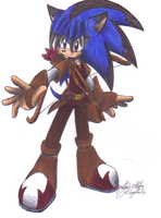 Algetar the hedgehog Last Night,Good night outfit by sonicartist16