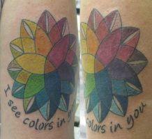 Color picker Mandala Tattoo by micaeltattoo