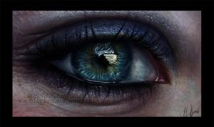 Eye painting by Blacleria