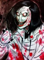 Jeff The Killer -Doodle- by XxLevanaxX