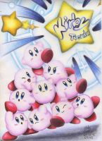 Kirbys for a contest: Kirby Tienda by Mickaia