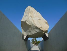 Levitated Mass by Michael Heizer by rlkitterman