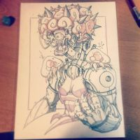 Commish 107 WIP 04 by RobDuenas