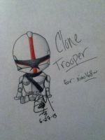 Clone Trooper - Commission by PheonixAurora