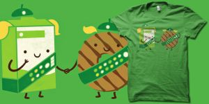 Girlscout cookies t shirt by biotwist