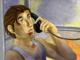 I'm at a payphone... by IneraBelle