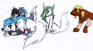 McLain Wolves by KPenDragon