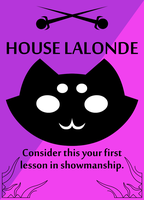 House Lalonde sigil by adrius15