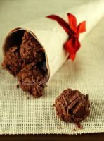 Chocolate Truffles by MeSHa3eL