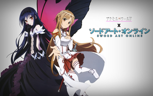 AW X SAO Simple BG by Kurosakideer by kurosakideer