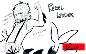 Ray the Rebel by Silent-Koi
