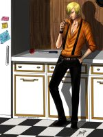 Sanji's kitchen by Jeannette11