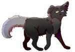 Enderwolfecho by phonyfeather