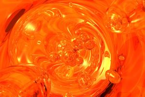 Abstract in Orange by Zethara