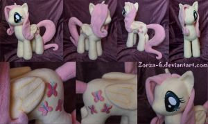 Fluttershy plush by Zorza-6