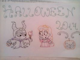 Halloween 2014 by Begonia123