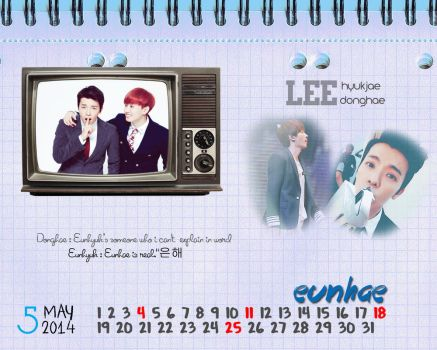 Eunhae May Calendar by eunhoon