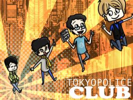 Tokyo Police Club by undrnoted-philosophy