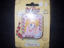 Sailor Moon Magnet Clip by KittyChanBB