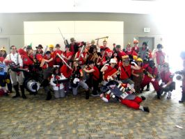 Otakon 2011 - Team Fortress 01 by mugiwaraJM