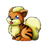 058. Growlithe by ChibiTigre