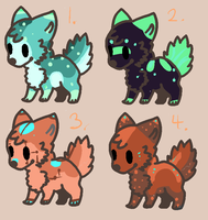 Adoptables - end- by Naeezadopts
