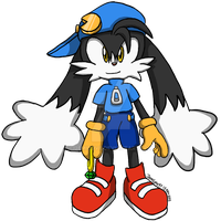 My first Klonoa art by JemiDove