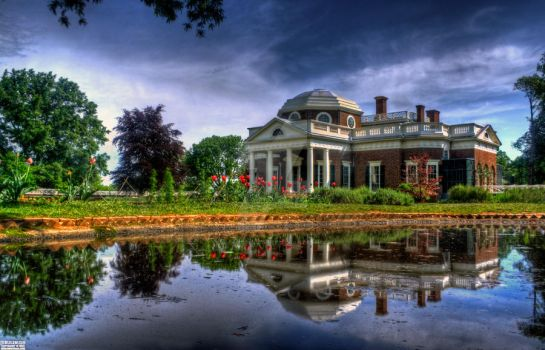 Thomas Jefferson's Monticelo - Charlottesville, VA by Bulephotography