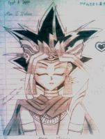 Pharaoh Atem Pencil by Michirulicious